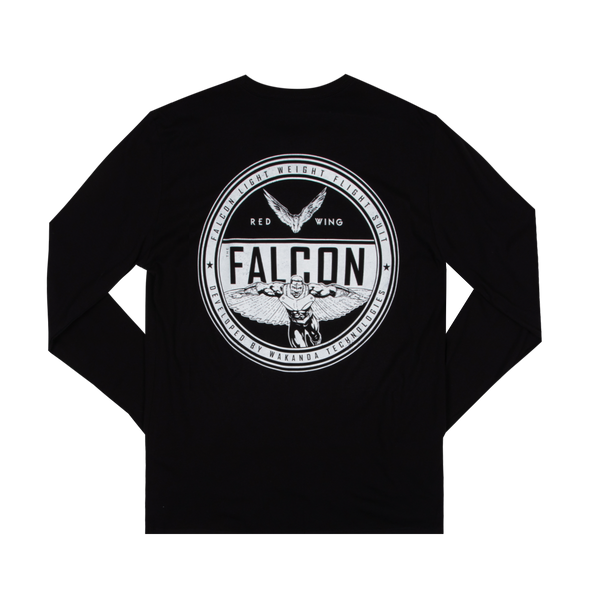 Marvel Falcon Flight Suit Black Long Sleeve