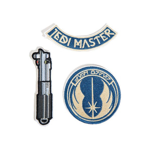 Star Wars Jedi Master Patch Set