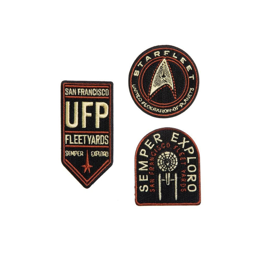 Star Trek Federation Embroidered Patch Set
