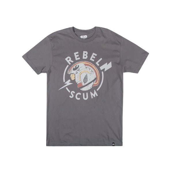 Star Wars Rebel Scum Helmet Charcoal Tee