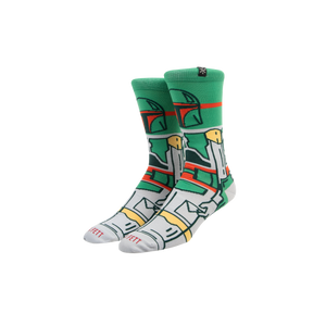 Star Wars Boba Fett Crew Socks