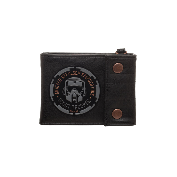 Star Wars Endor Men's Bifold Wallet With Snaps