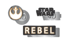 Star Wars Rebel Lapel Pin Set