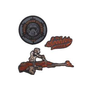 Star Wars Endor Patch Set