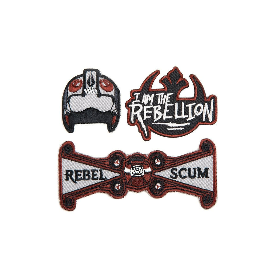 Star Wars Rebel Scum Patch Set