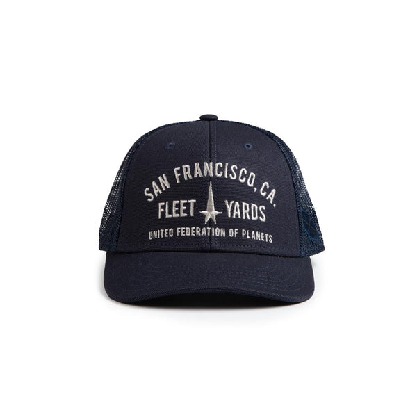 Star Trek Federation Fleet Yards Trucker Hat
