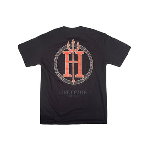 Marvel Hellfire Club Black Tee