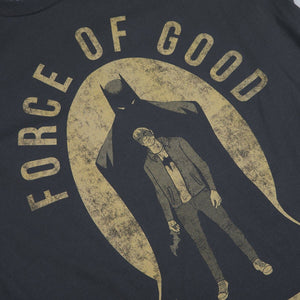 Sons of the Batman Force of Good Gold on Black Tee