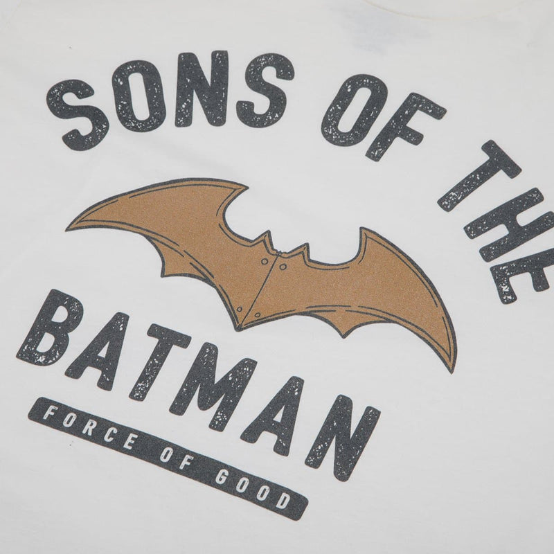 Sons Of The Batman Logo Natural Tee