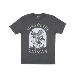 Sons Of The Batman Crusade Charcoal Tee