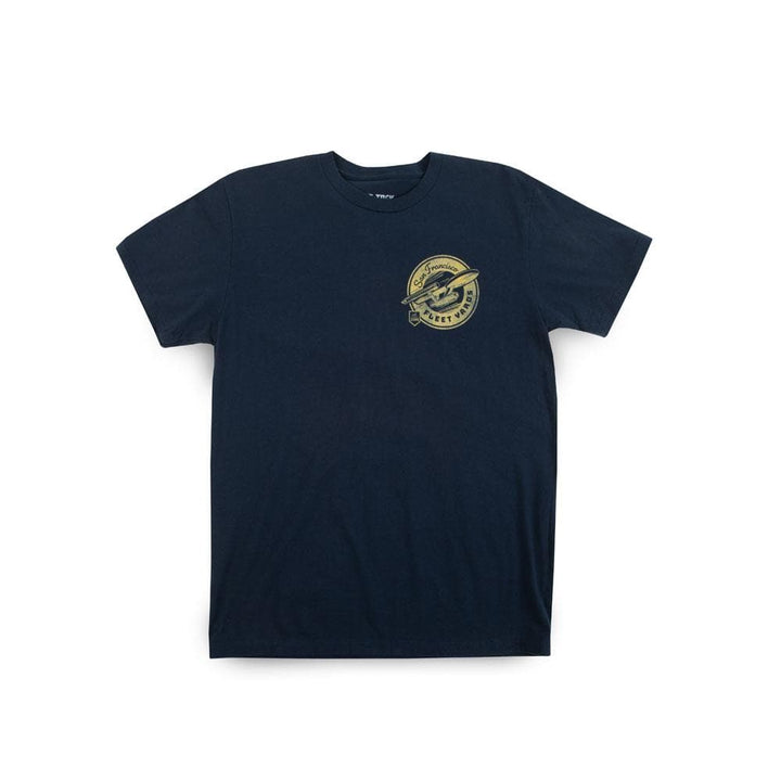 Star Trek Federation San Francisco Fleet Yards Navy Tee
