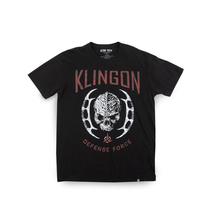 Star Trek Klingon Defense Force Black Tee