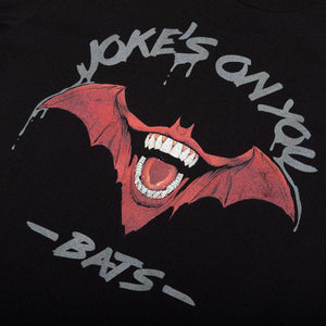 Batman & Joker Joke's On You Black Tee