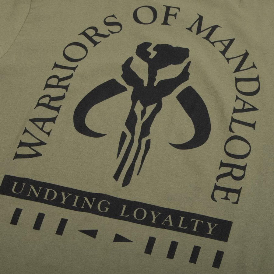 Star Wars Warriors of Mandalore Olive Tee