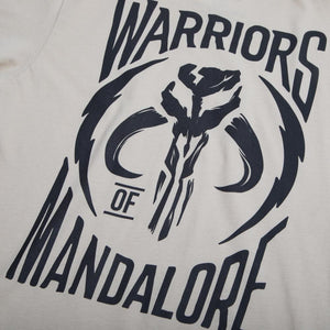 Star Wars Warriors of Mandalore Tan Tee