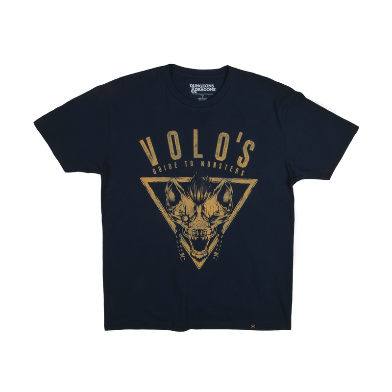 D&D Volo's Guide Navy Tee
