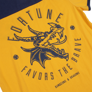 D&D Fortune Favors the Brave Yoke Tee