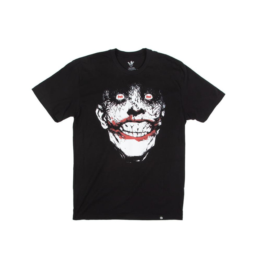Batman & Joker Smile Black Tee