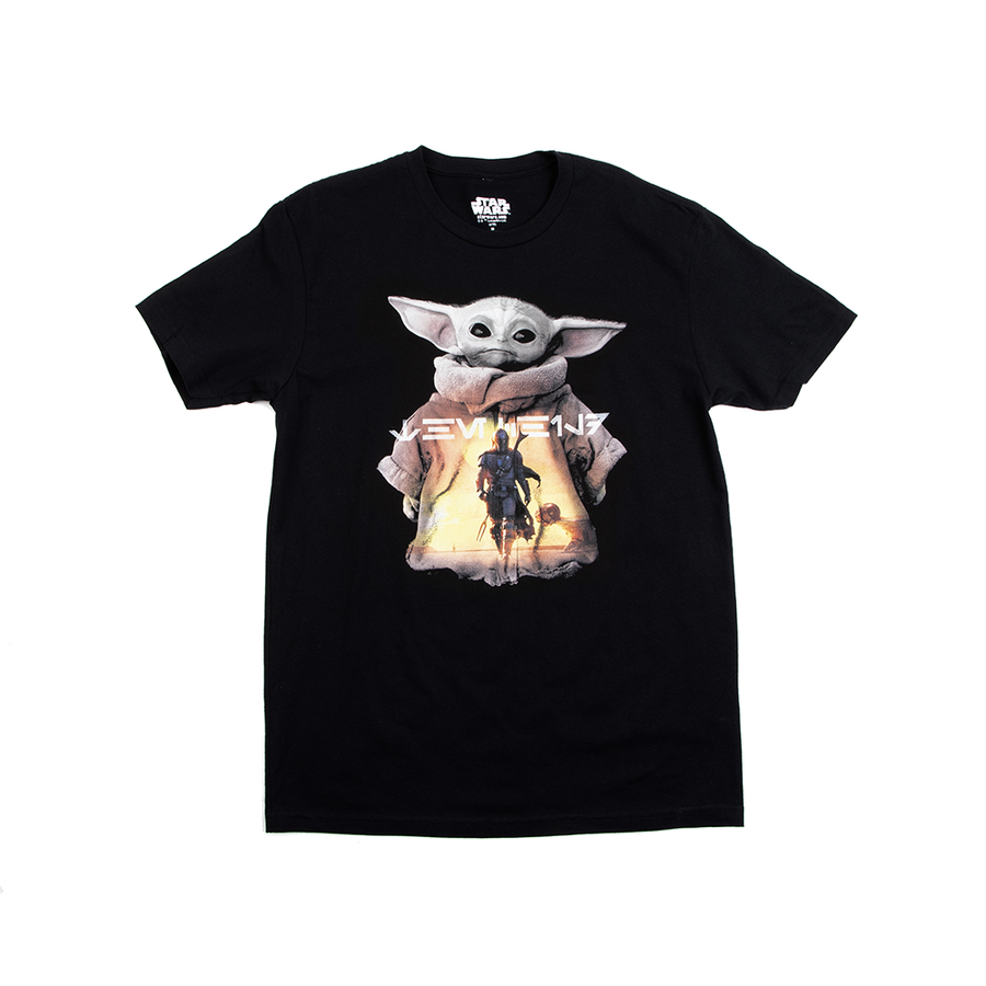 Star Wars The Child Men's Black Tee