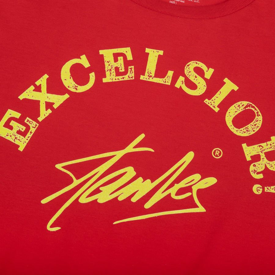 Stan Lee Excelsior Red Tee