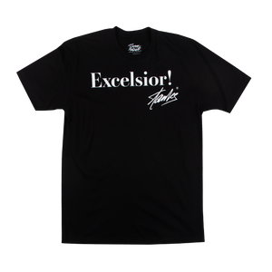 Stan Lee Excelsior Black Tee