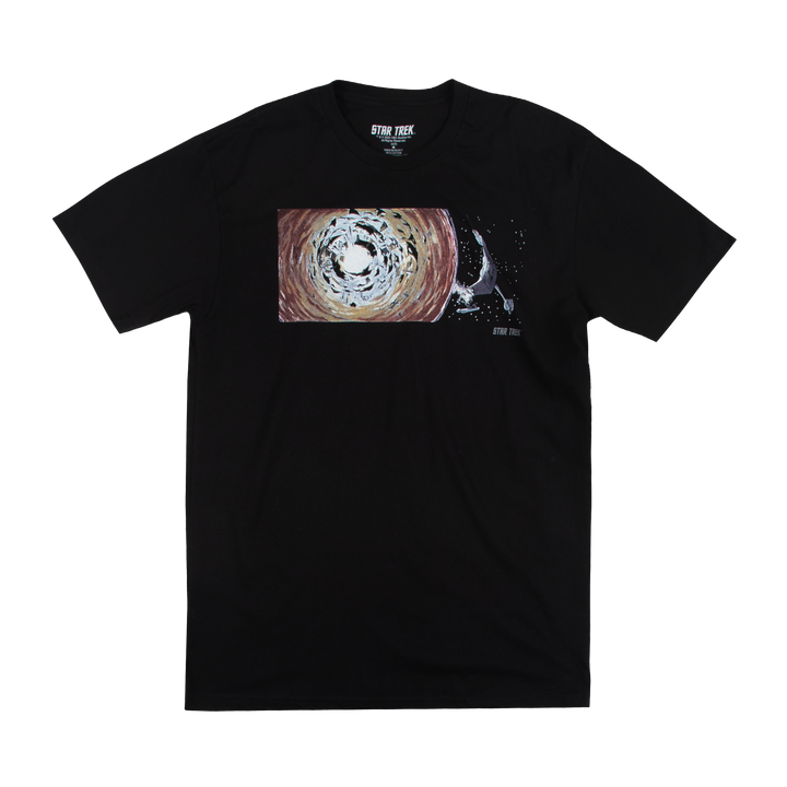 Star Trek D7-Destruction Concept Art Black Tee