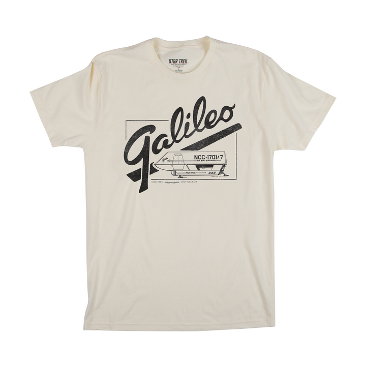Star Trek Galileo Natural Tee