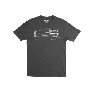 Galileo Technical Drawing Tee