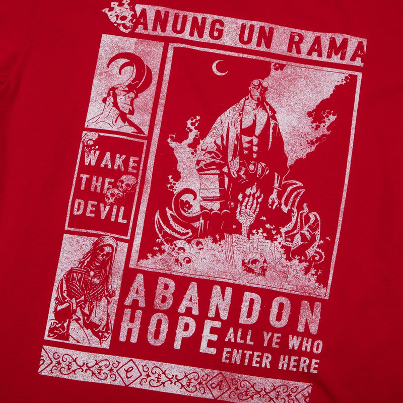 Hellboy Abandon Hope Red Tee