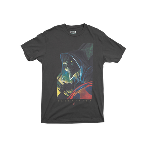 Black Widow Classic Taskmaster Charcoal Tee
