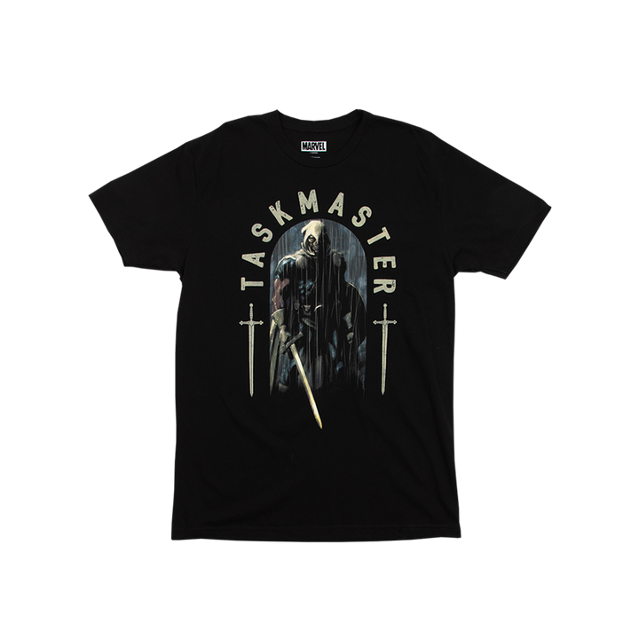 Black Widow Taskmaster Black Tee