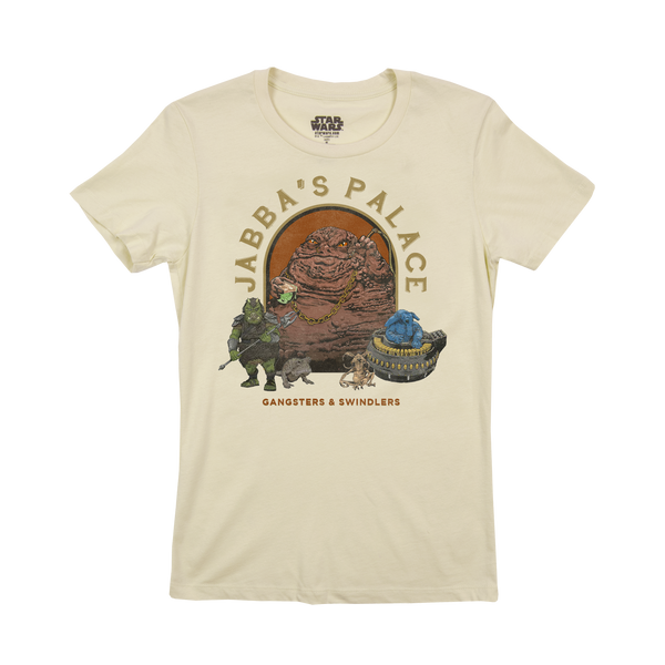 Star Wars Jabba's Palace Women's Natural Tee