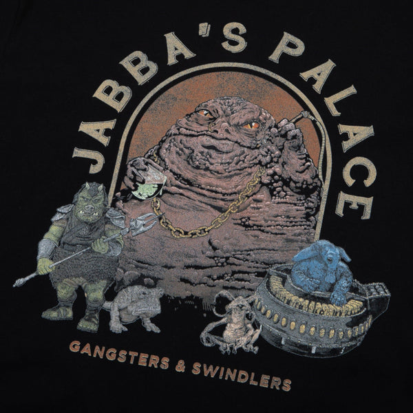 Star Wars Jabba's Palace Black Tee