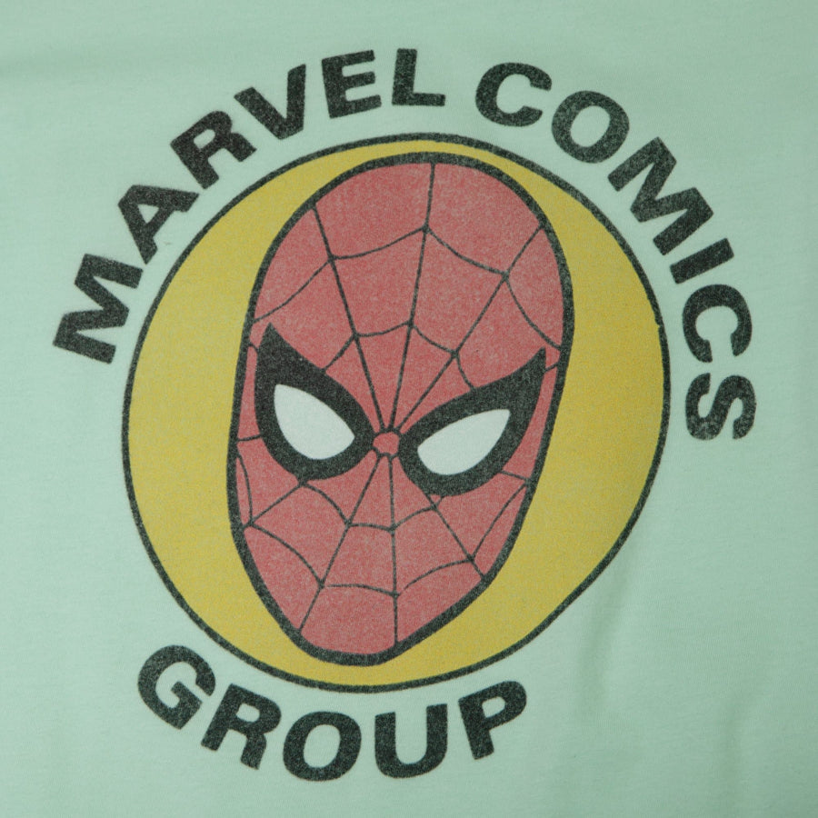 Spider-Man Marvel Group Women's Mint Tee