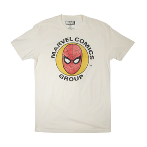 Spider-Man Marvel Group Natural Tee