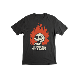 Heroes & Villains Hot Head Tee