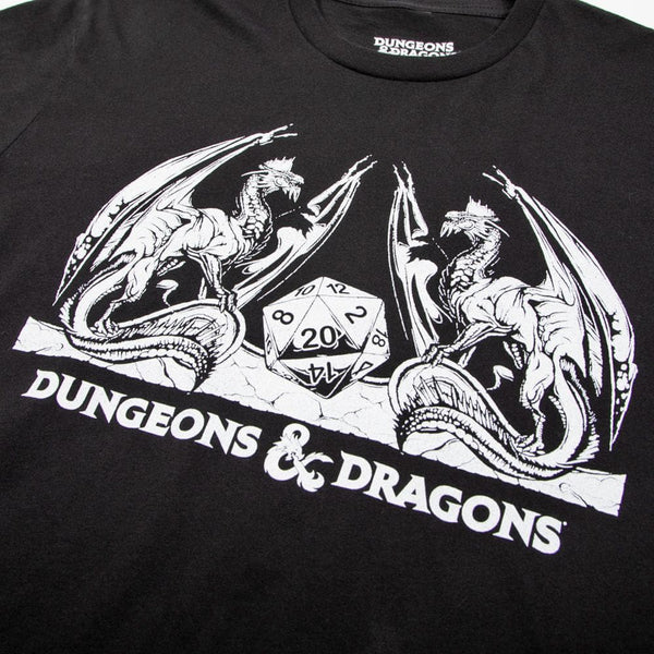 D&D Dragons Charcoal Tee