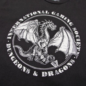 D&D Gaming Society Charcoal Tee
