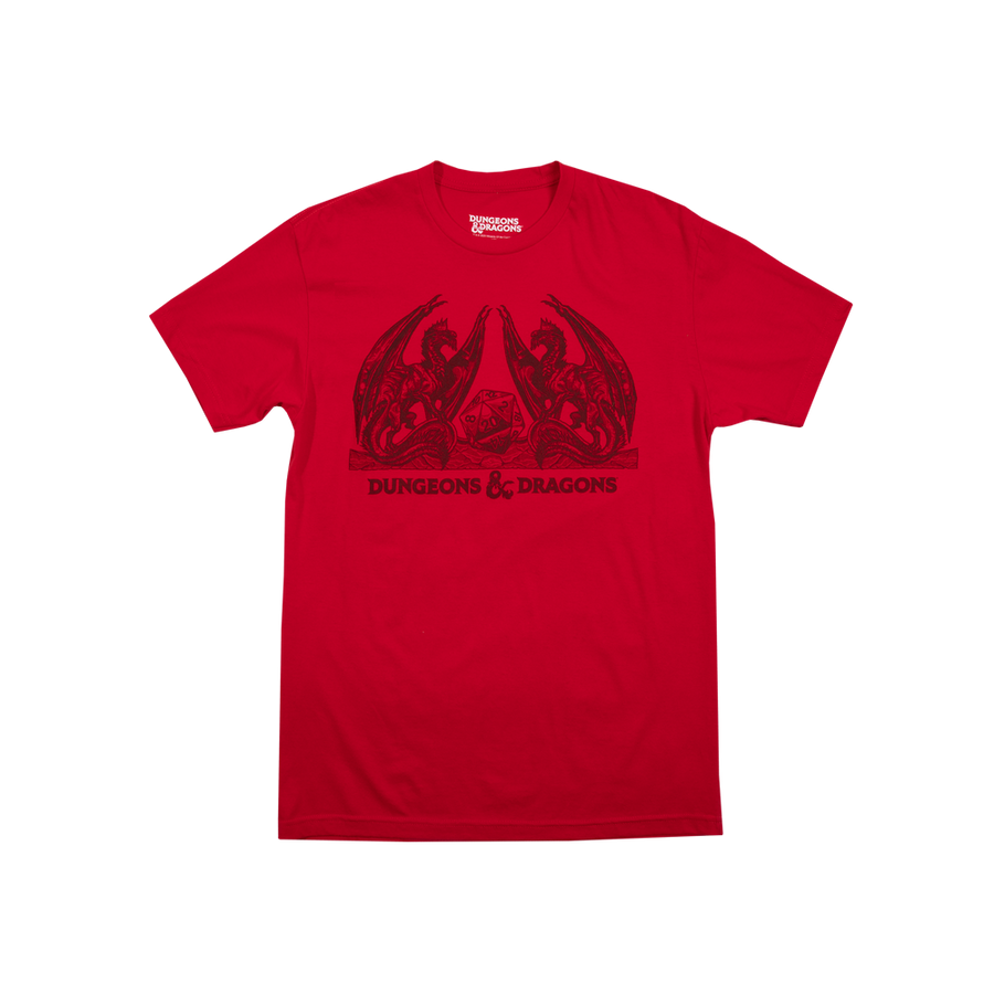 D&D Dragons Red Tee