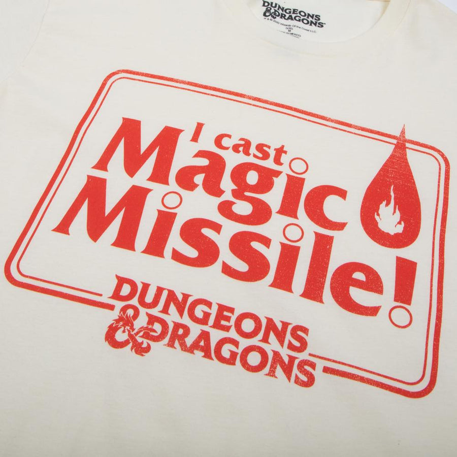 D&D Magic Missile Natural Tee