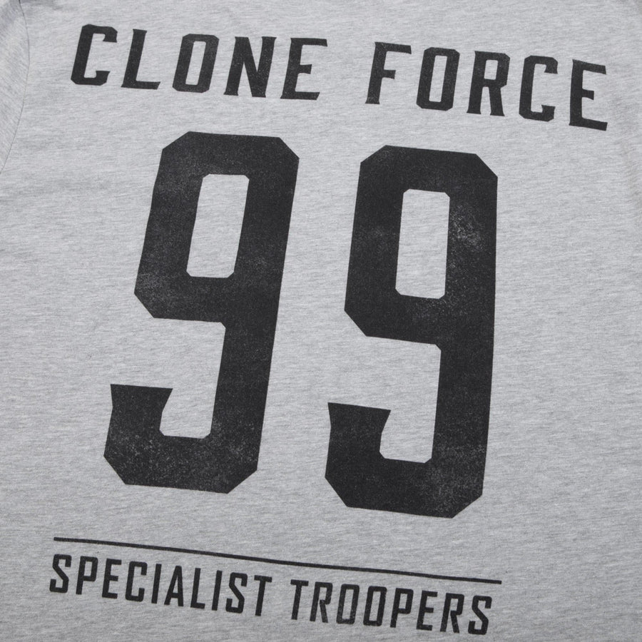 Star Wars Clone Force 99 Athletic Grey Tee