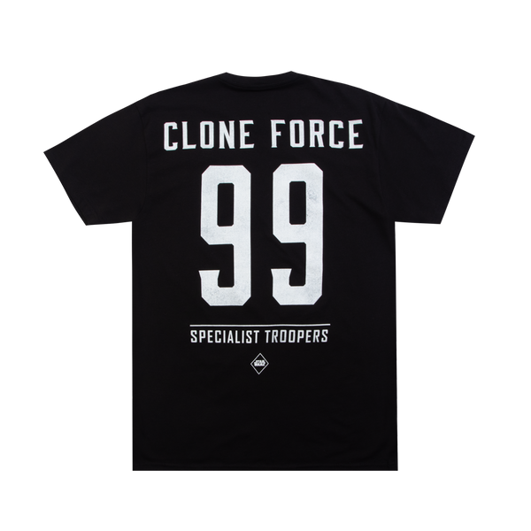Star Wars Clone Force 99 Black Tee