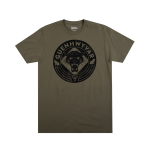 Drizzt Guenhwyvar Olive Tee