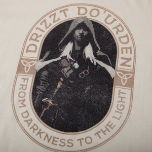 Drizzt From Darkness Natural Tee