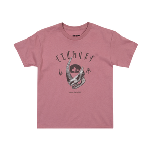 Mudhorn Trophy Desert Pink Youth Tee