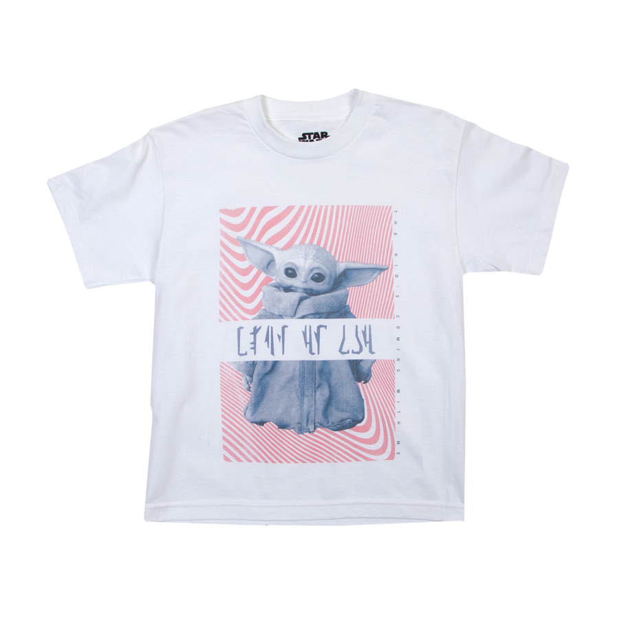 Clan of Two Child White Youth Tee