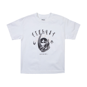 Mudhorn Trophy White Youth Tee