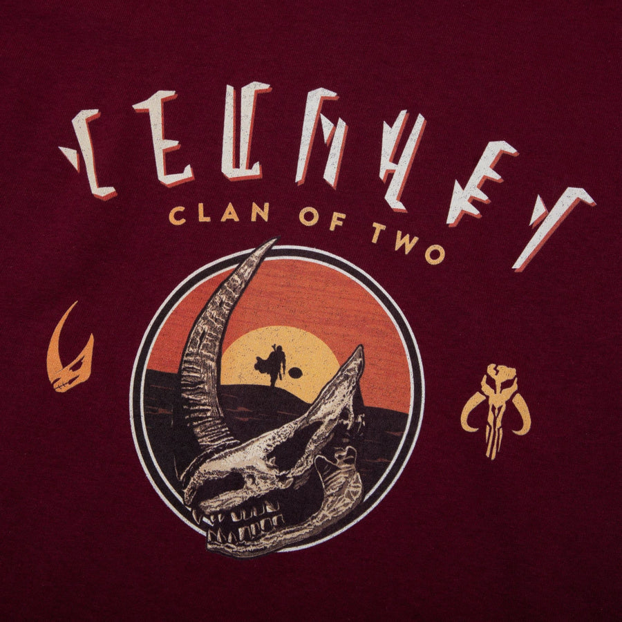 Mudhorn Clan of Two Maroon Youth Tee