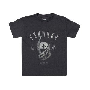 Mudhorn Trophy Charcoal Youth Tee