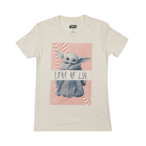 Clan of Two Child Women's White Tee